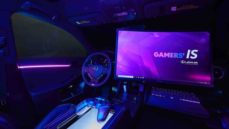 Strange Bedfellows: Lexus And Twitch Build The Ultimate Gaming Vehicle
