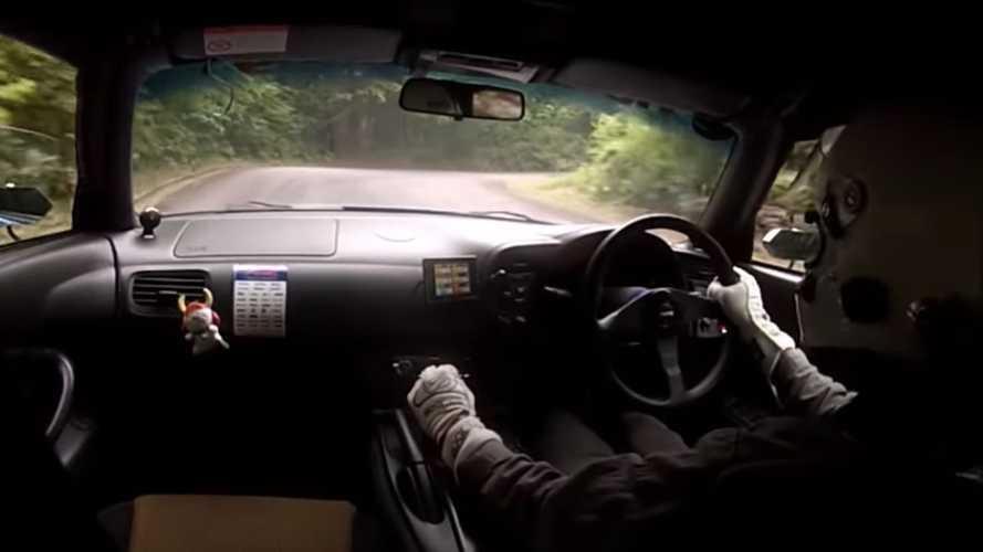 Alucina con este Honda S2000, a fondo en un 'time attack' de Japón