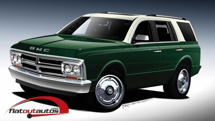 Makers Of K5 Blazer Conversion Hint At GMC Jimmy Version