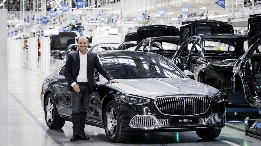 Ez lett az ötvemilliomodik legyártott Mercedes-Benz