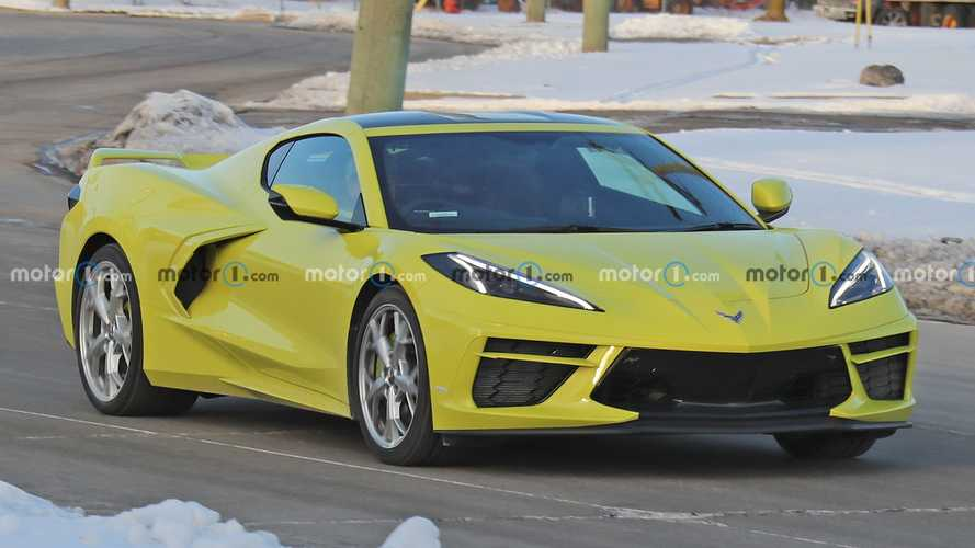 Right-Hand-Drive Chevy Corvette C8 Spy Photos