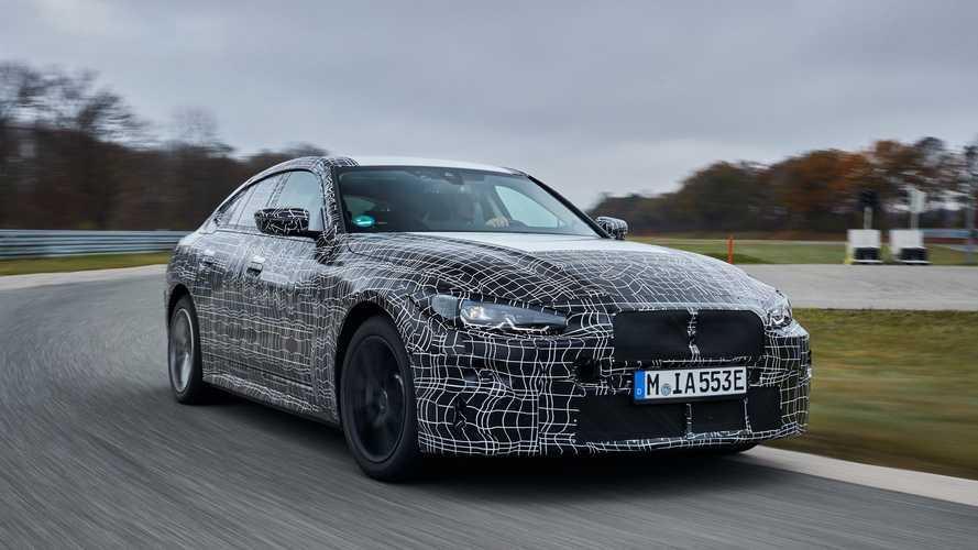 BMW i4 (2021): Elektro-Viertürer kriegt 600 Kilometer Reichweite