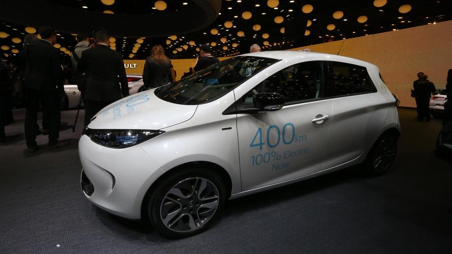 Renault Zoe ZE 40, Paris'e 400 km menzille