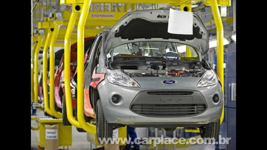Ford inicia produção do Novo KA na Europa - Vendas começam em 2009
