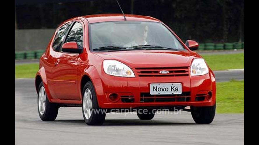 Recall: Ford convoca 41.460 unidades Novo Ka para corrigir problema no freio