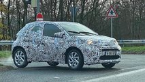 new toyota aygo spied first time