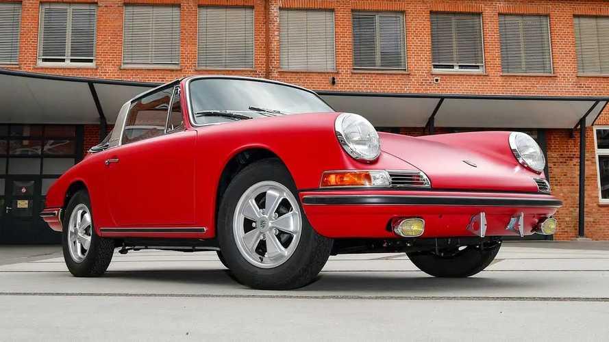 Werksrestaurierung in Perfektion: Porsche 911 S Targa