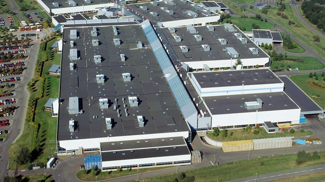 Volvo Cars powertrain plant in Skövde, Sweden