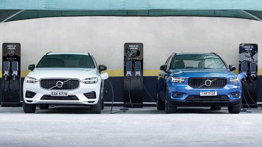 Volvo fecha parceria para ampliar rede com 250 novas estações de recarga