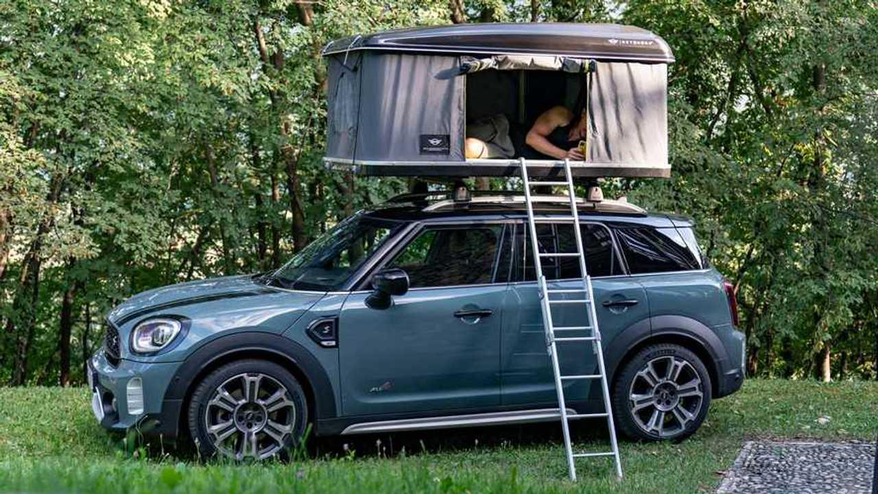 MINI Countryman, la tenda da tetto by AutoHome