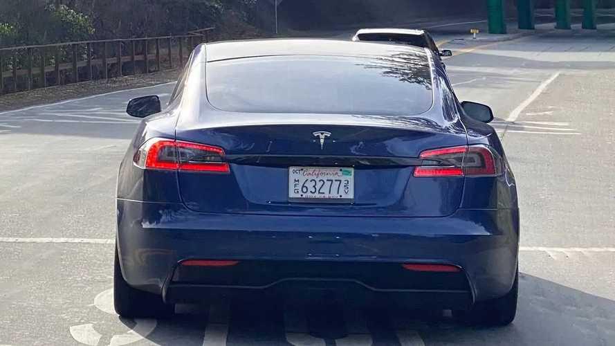 2021 Tesla Model S Plaid prototype