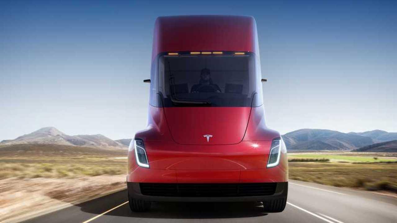 Karşınızda; Tesla TIR