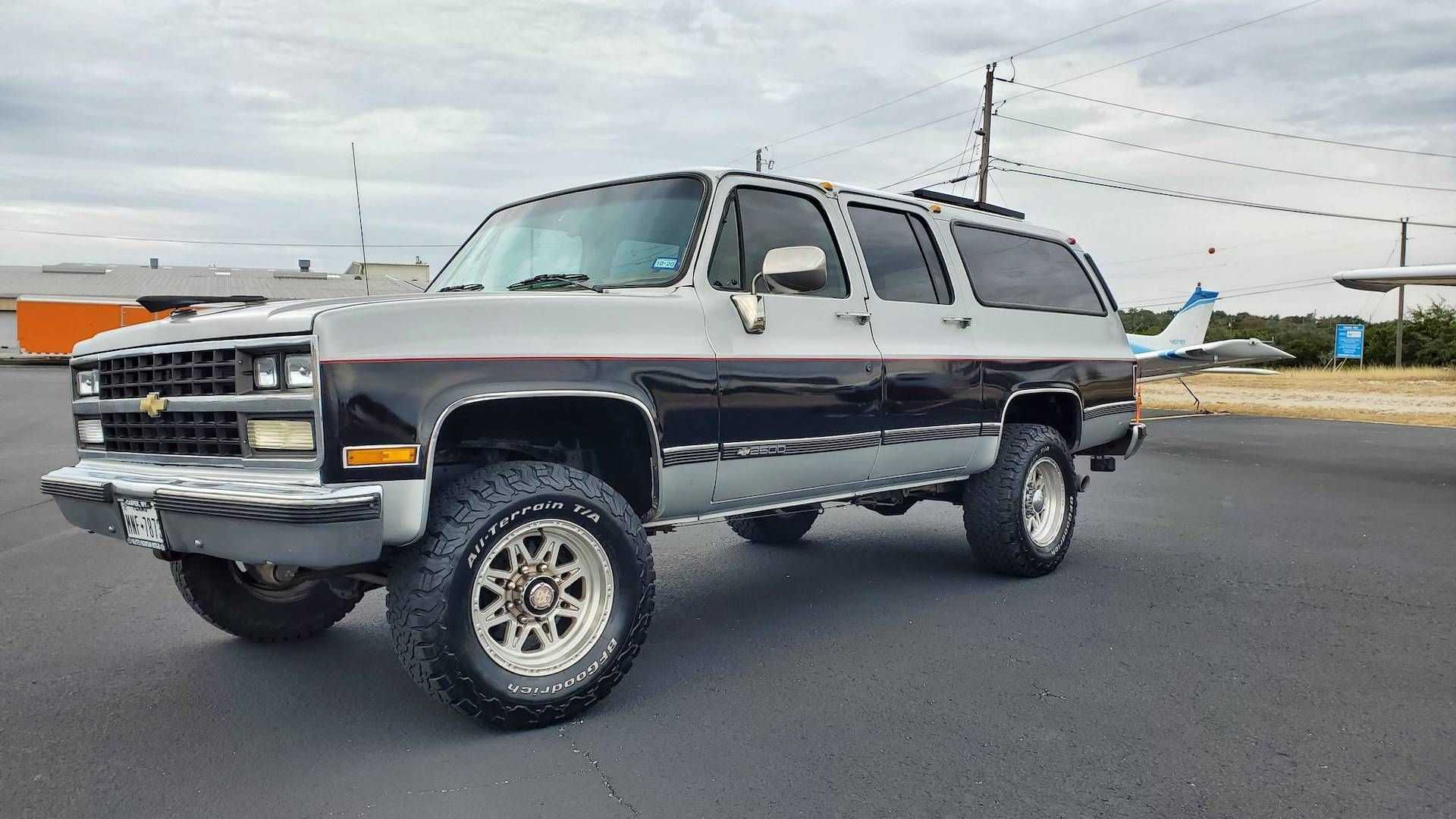 This Good Looking 1989 Chevy Suburban Camper Could Be Yours