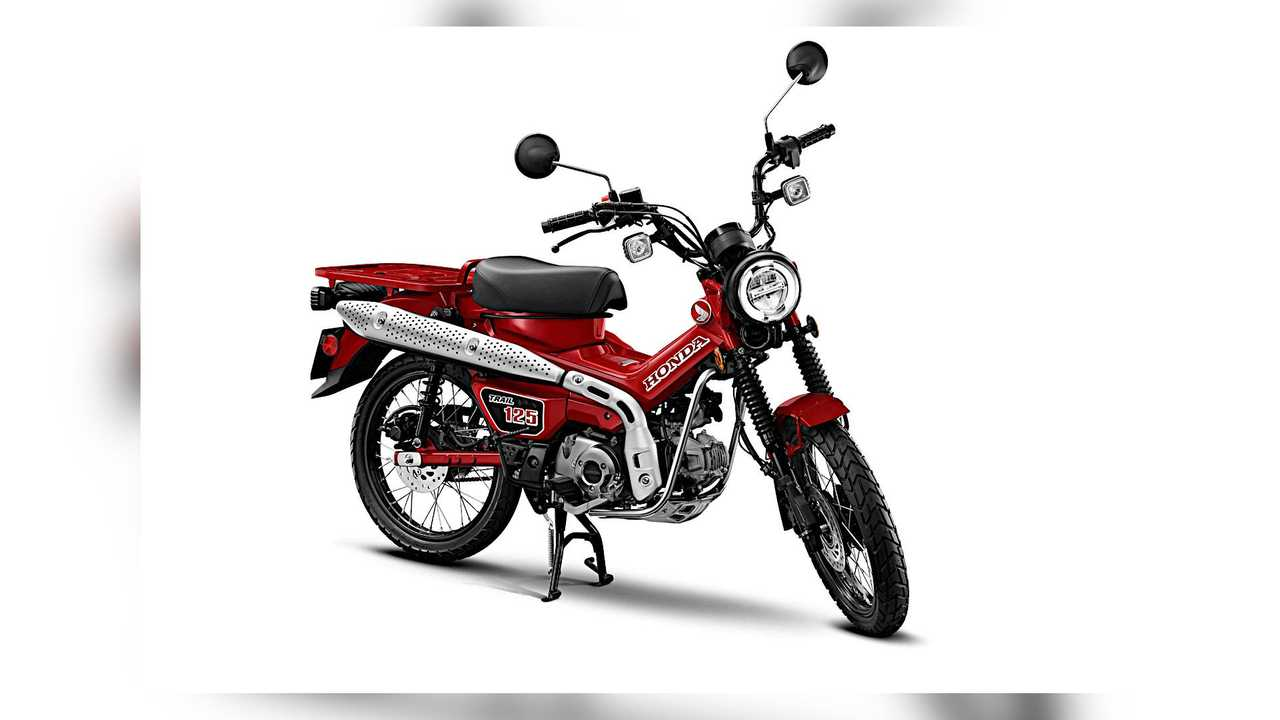 2021 Honda Trail 125 ABS Right Side