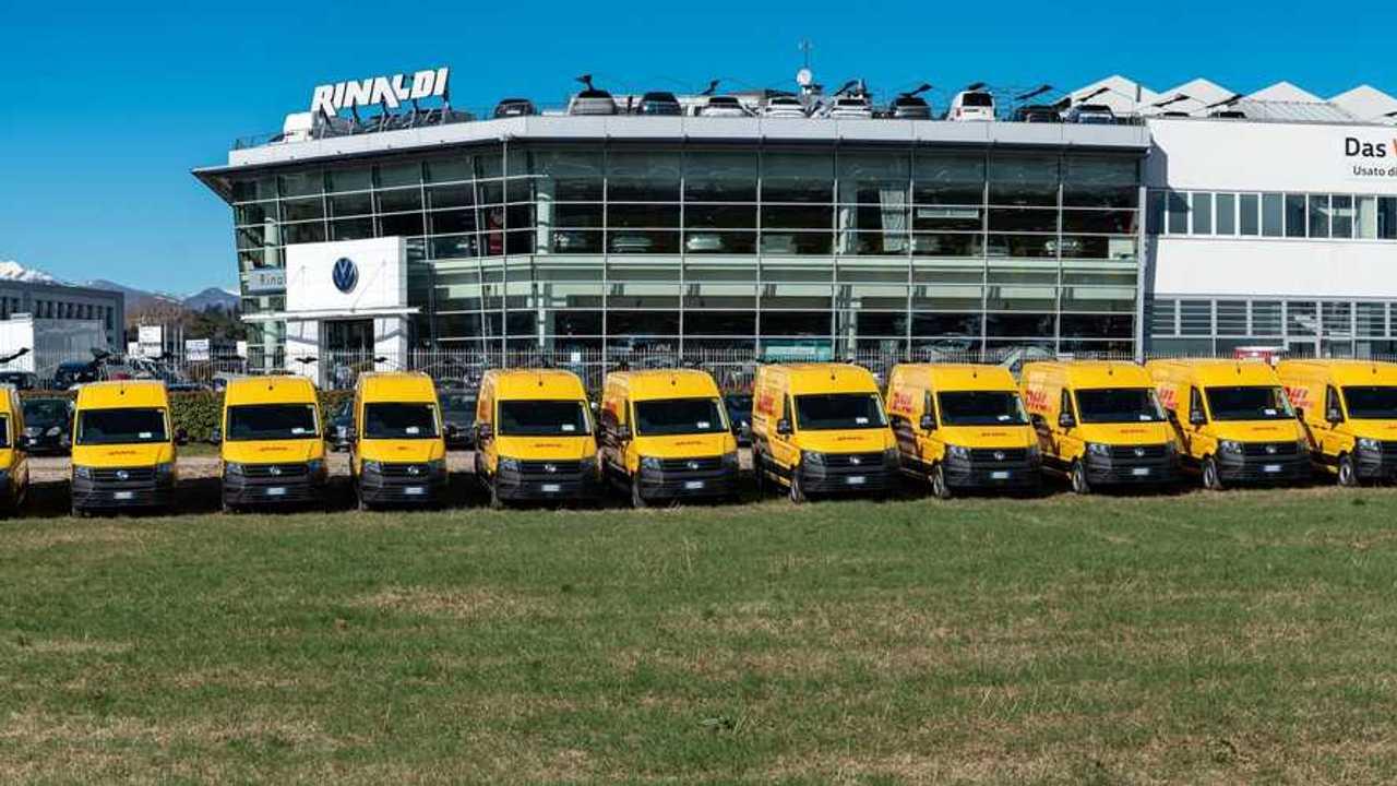 Volkswagen, altri 39 Crafter allestiti per DHL
