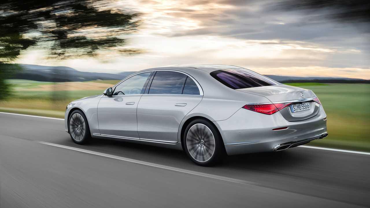 Extérieur de la Mercedes-Benz Classe S 2021