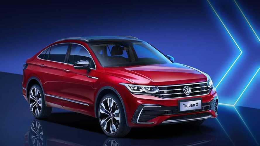 Volkswagen présente le Tiguan X, le coupé chinois