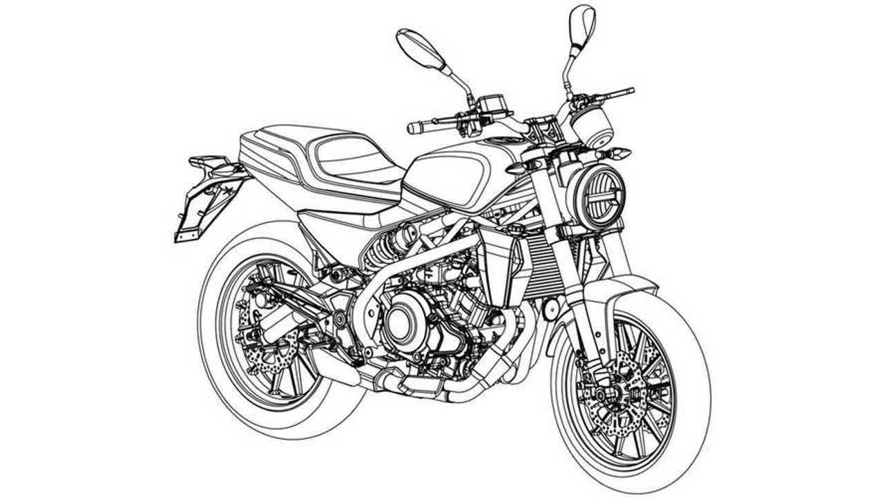 Harley-Davidson 338R Patent-3/4 Front