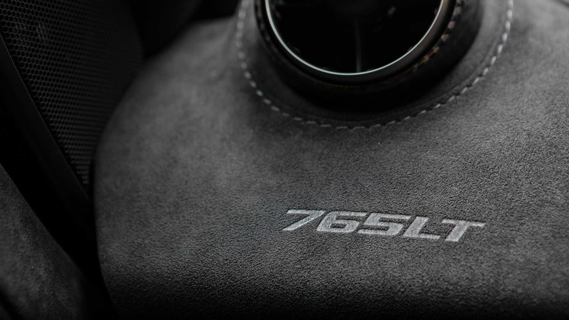 2021 McLaren 765LT dash vent
