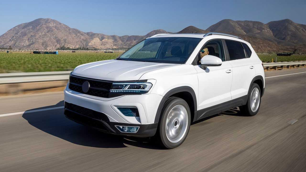 Volkswagen Taos (2021) Prototyp