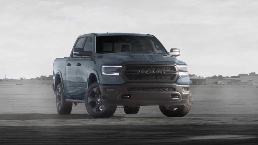 Ram 1500 Buit To Serve Air Force