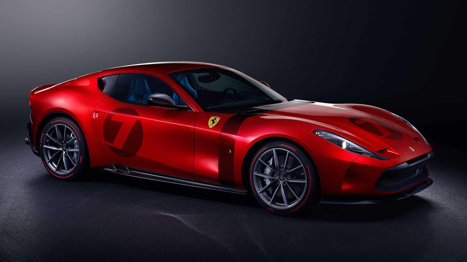 Ferrari Omologata: un one-off basado en el 812 Superfast
