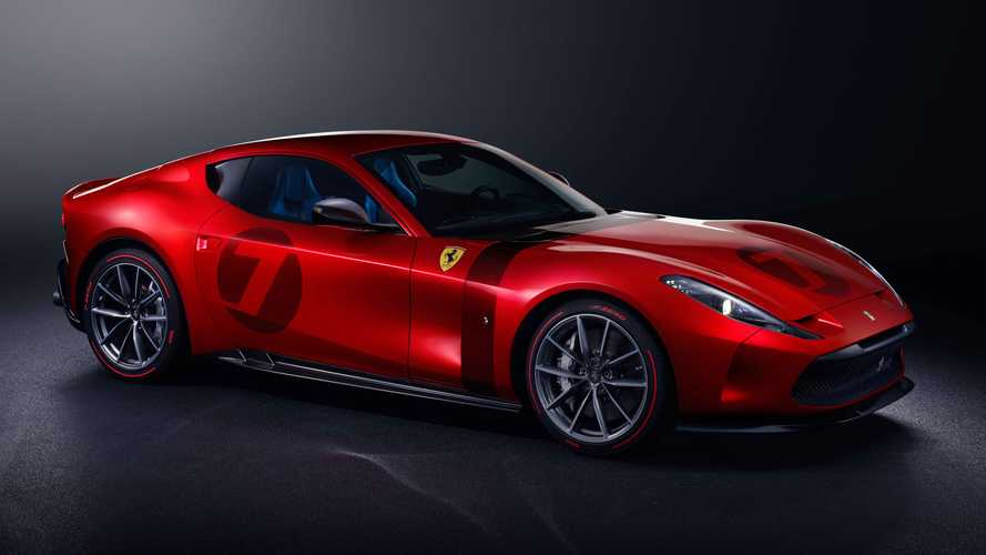 Ferrari Omologata Revealed As Stunning One-Off V12 Grand Tourer