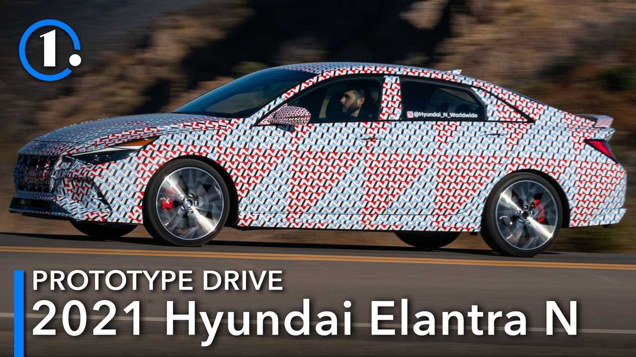 2021 Hyundai Elantra N Prototype First Drive