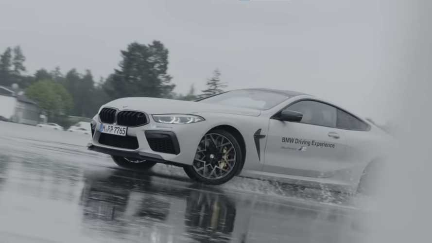 BMW Shows Us How To Drift RWD And AWD Cars