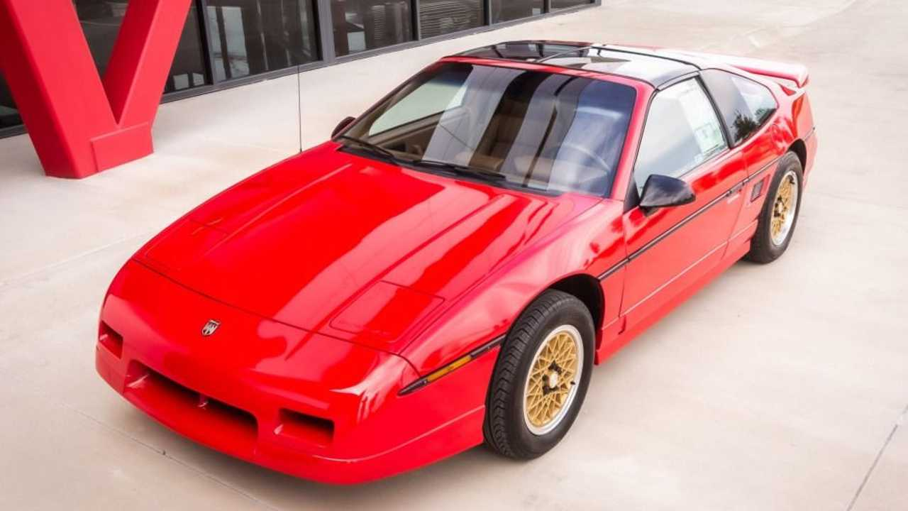 108 Mile 1988 Pontiac Fiero Gt Heads To Auction