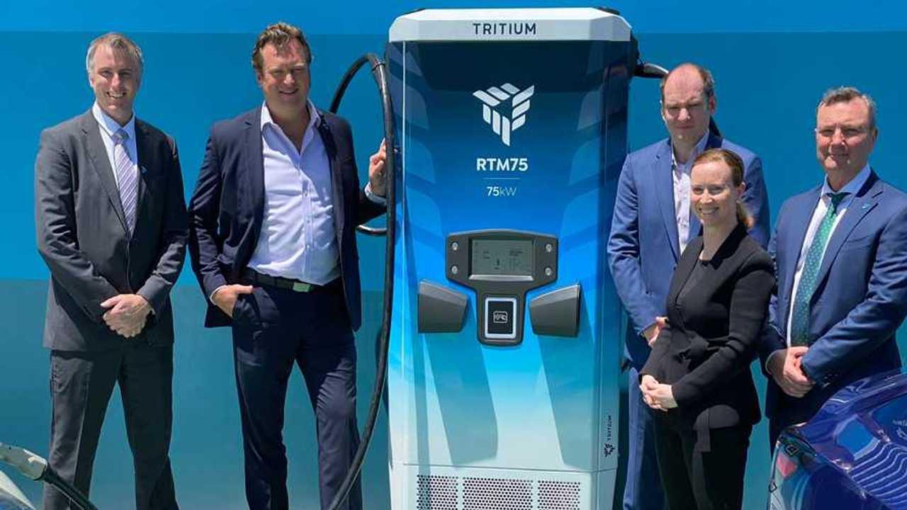 Tritium charging infrastructure