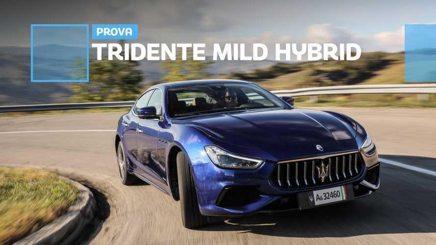 Maserati Ghibli Hybrid, la prova della berlina con l'ibrido leggero