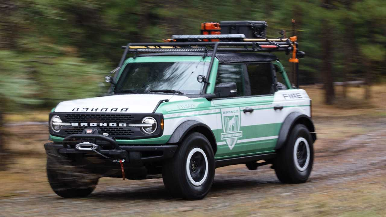 Ford Bronco Wildland Fire  concept