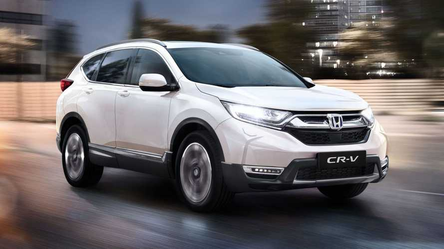 Updated Honda CR-V costs just over £30,000 in the UK