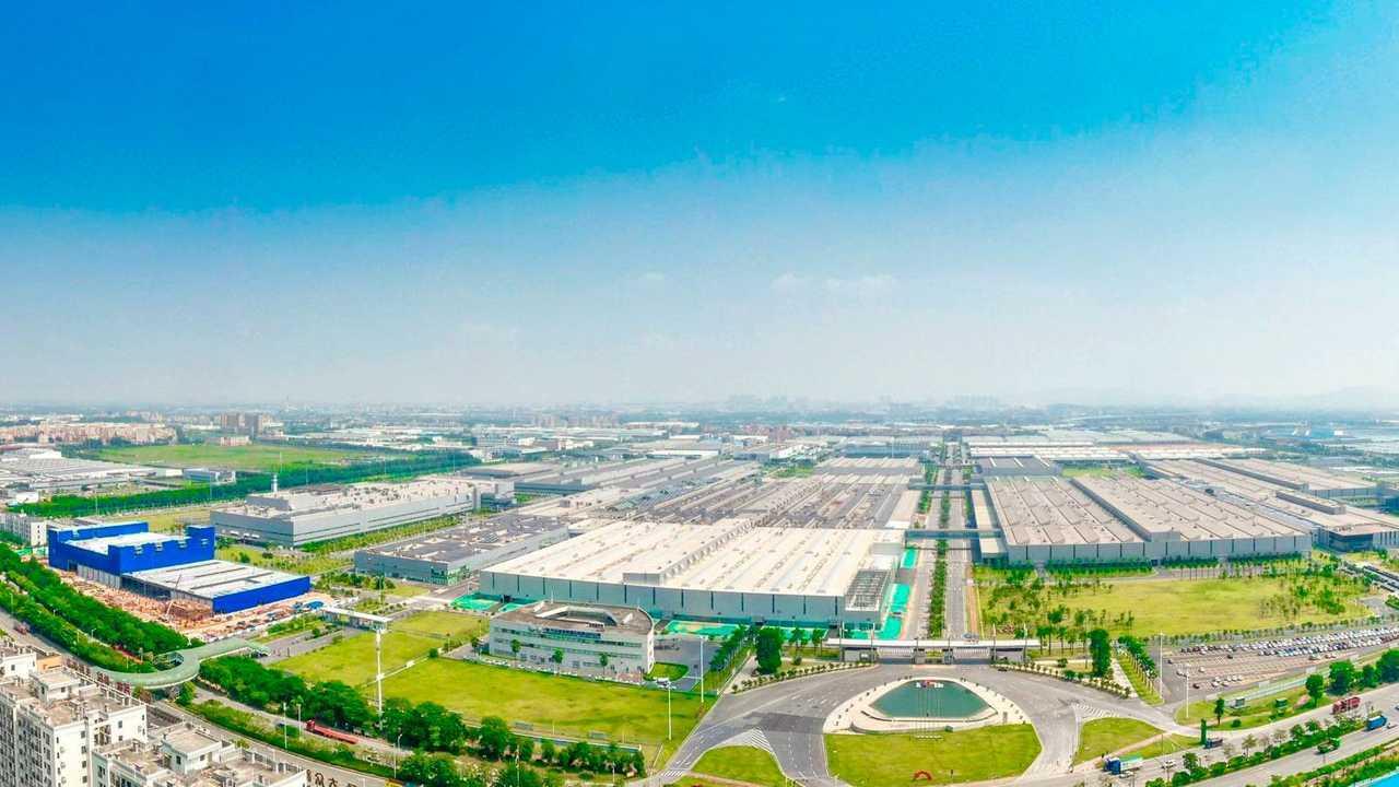 FAW-Volkswagen plant in Foshan, China