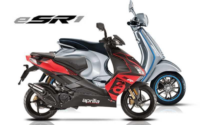 Aprilia e-SR1, lo scooter elettrico del futuro di Noale