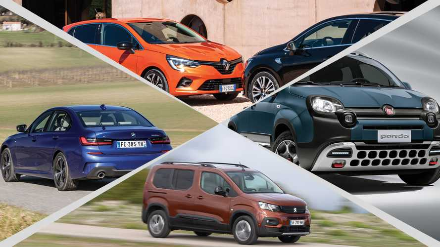 Los coches más vendidos de cada segmento en Europa