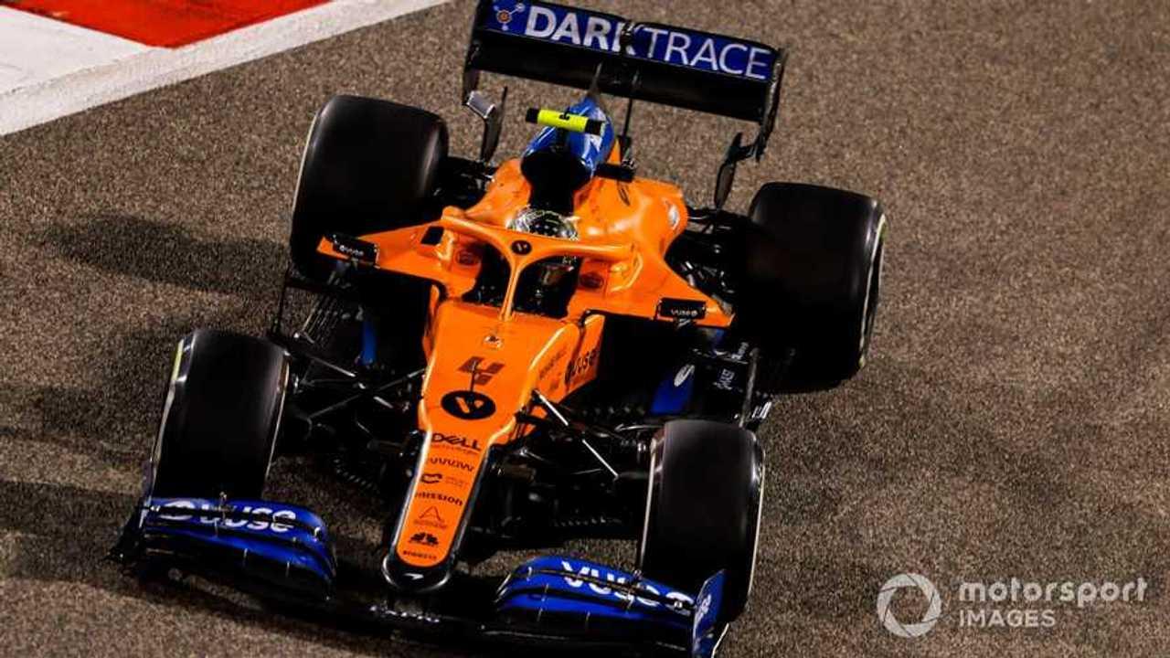 Lando Norris at Bahrain GP 2020