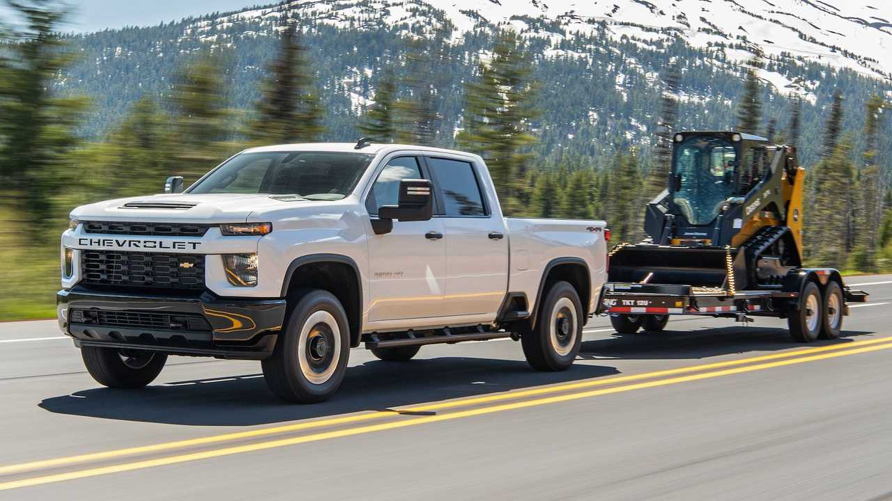 2021 Chevrolet Silverado HD New Max Tow Rating