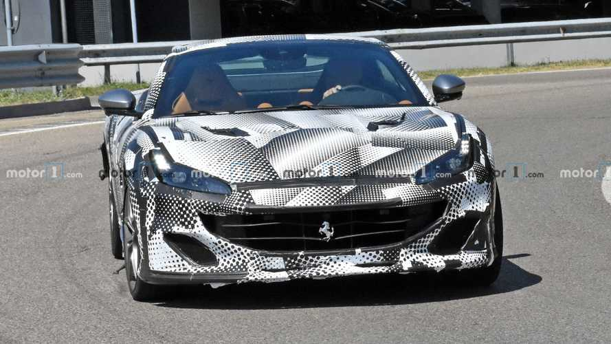 Ferrari Portofino Spy Photos