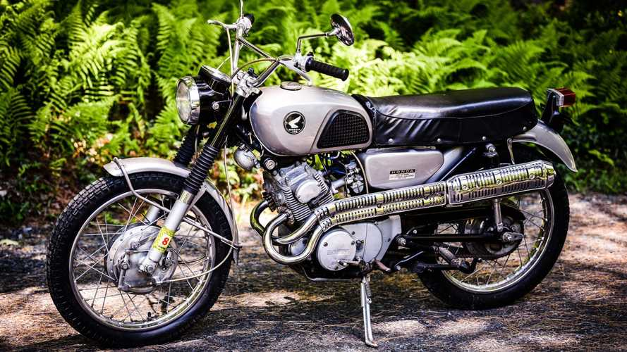 This 1966 Honda CL160 Is The Cutest Scrambler Ever