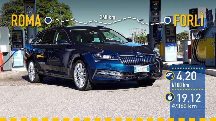 Skoda Superb Combi iV 2020: prueba de consumo real