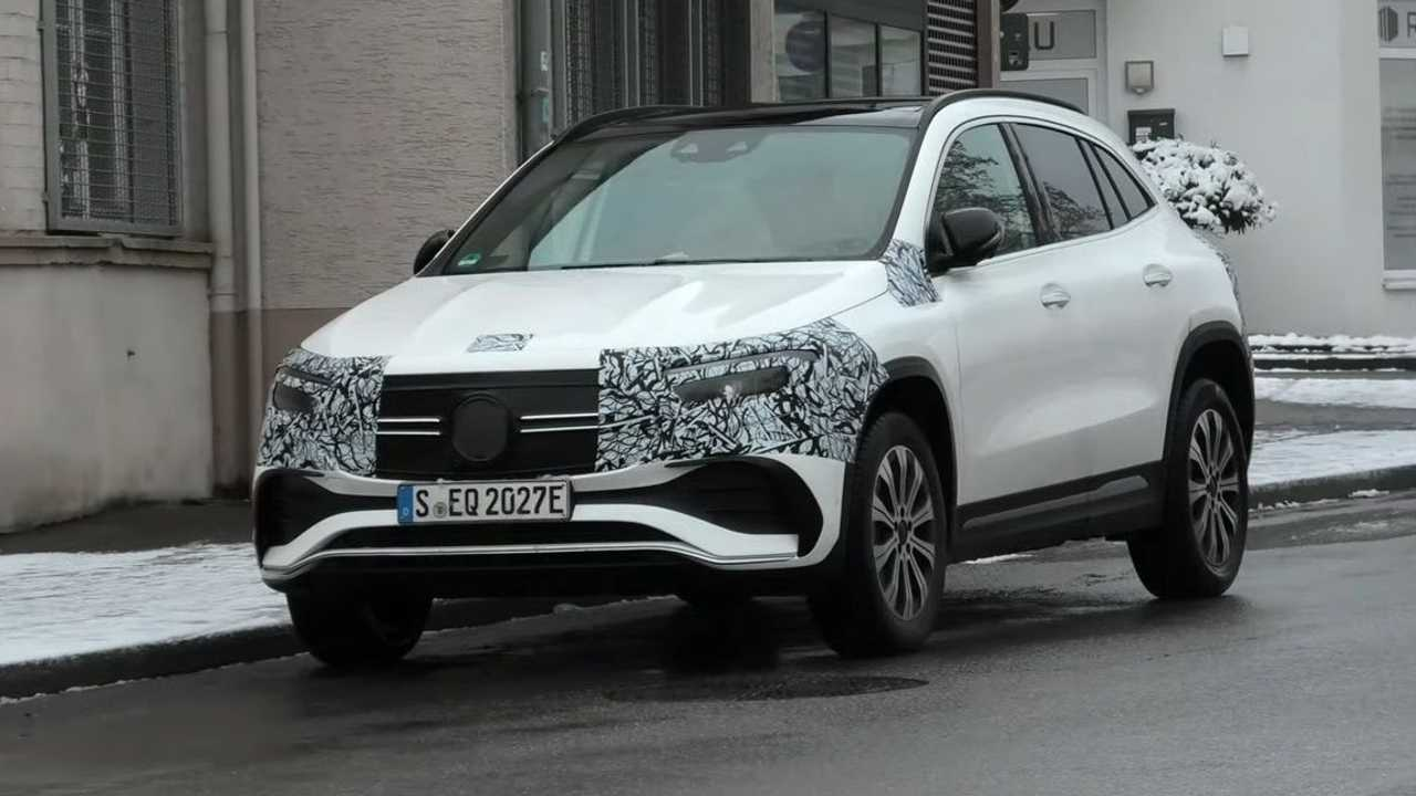 Mercedes EQA Spy Photos