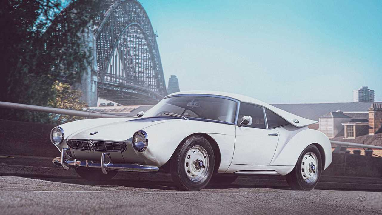 BMW i8 if it was designed in the 1960s