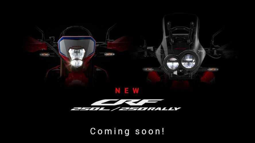 Honda, in arrivo le nuove CRF 250L e 250 Rally