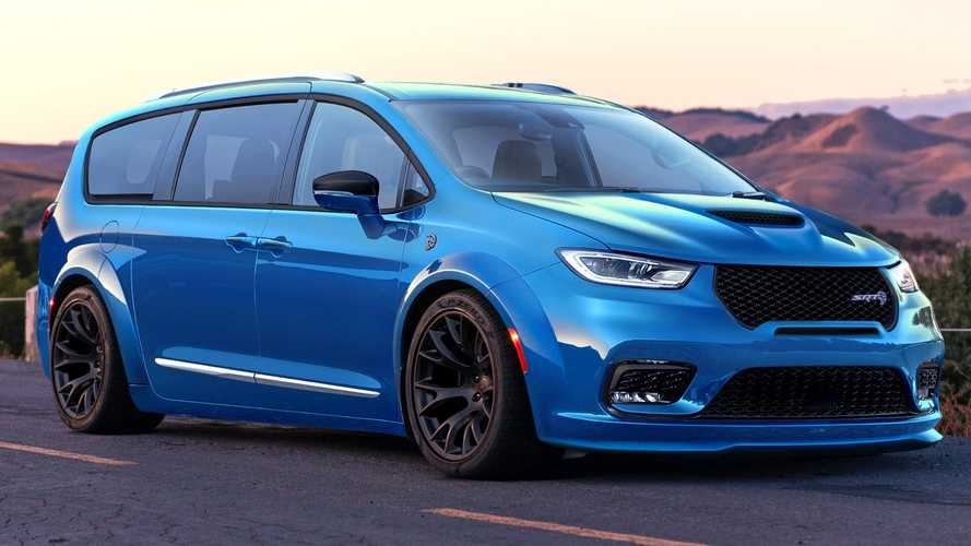 Chrysler Pacifica Hellcat Unofficial Rendering Would Make A Fast Family Hauler