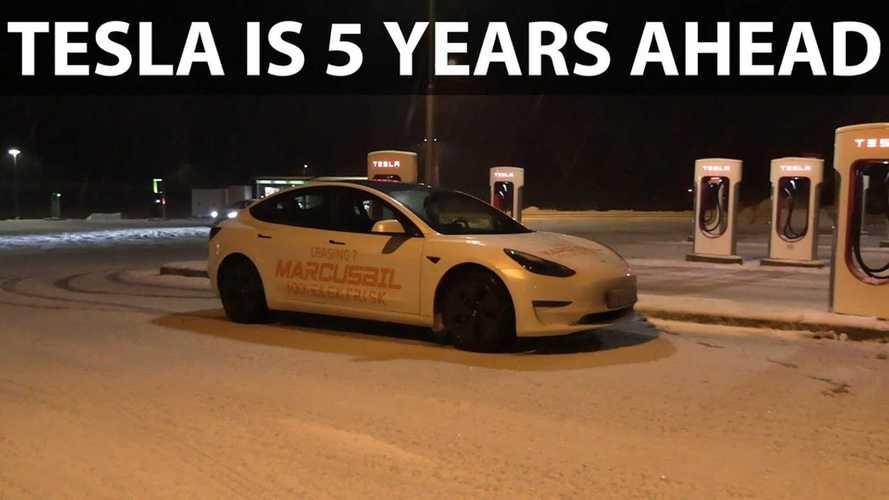 Tesla Model 3 Heat Pump & Octovalve Test: Five Years Ahead?