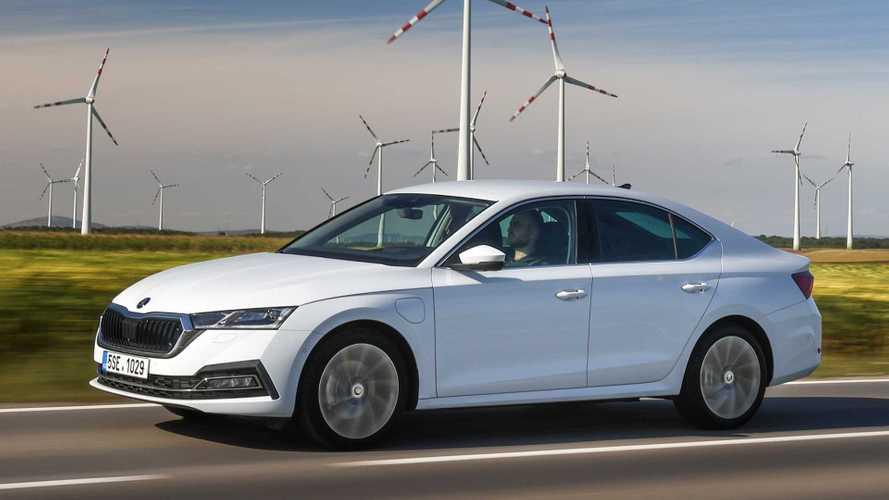 Skoda Octavia iV mit Plug-in-Hybridantrieb nun ab 36.009 Euro