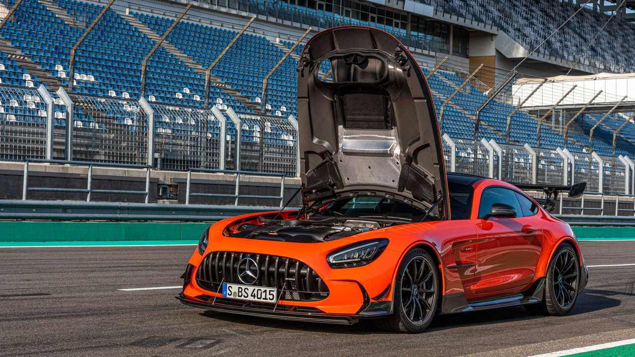 Mercedes-AMG GT Black Series Has Broken The Nurburgring ...