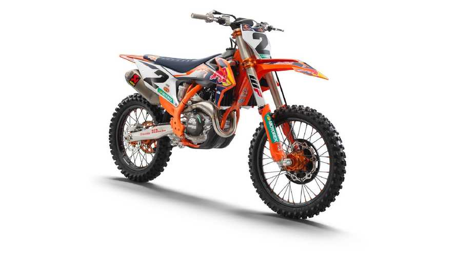 KTM 450 SX-F Factory Edition 2021, dal Supercross al concessionario